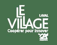 Logo Village Laval+Coop Noir